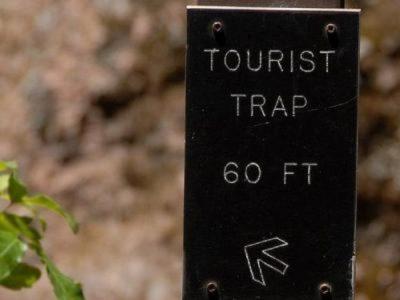 Evitar trampas turistas