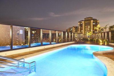 brasil marriot rio de janeiro pool