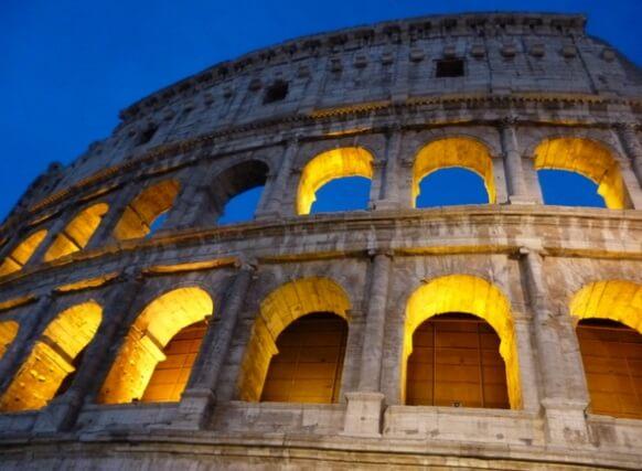 primer viaje a Europa roma italia