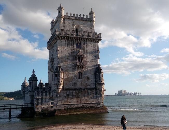 belemtower lisbon itinerario de tu primer viaje a Europa