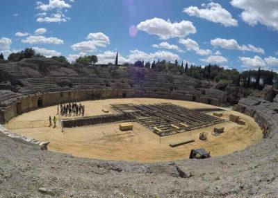 italica anfiteatro sevilla santiponce