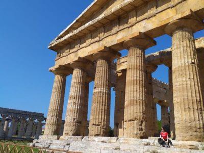 paestum ruinas templo de neptuno