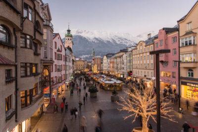 vista de innsbruck austria