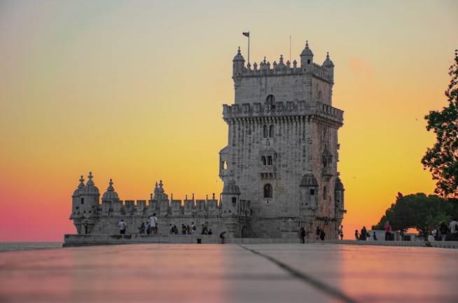 lisboa torre de belem visa freelancer portugal